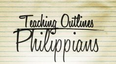 This is the book of Philippians teaching outlines. It will give you a general outline of the main points and passages from each chapter with helpful notes throughout that gives you a solid outline that allows you to fill it in with your spice, stories and context for ministry.    Each teaching outline includes:    Suggestions for a good opener or illustration  2-4 main points from the chapter  Passages of Scripture  Action Steps  Thought for the Week  Questions about the study for after