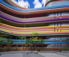 #Studio505 expands #NanyangPrimarySchool in #Singapore and its new rainbow-like…