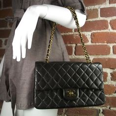 CHANEL Vintage Lambskin handbag