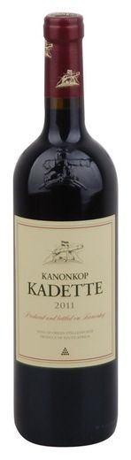 In stock - 11,45€ 2011 Kanonkop Kadette, red dry , South Africa - 86pt Bold ruby-red colour with light red rim. In its aroma are dominant intense tracks of forest fruit and oak barrel. In taste is opulent and nicely balanced. Gradually are present also tracks of blackcurrants and sour cherries in chcolate. Aftertaste is long.