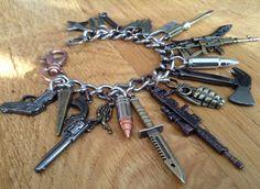 Zombie Apocalypse Charm Bracelet