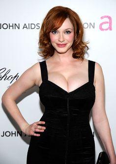 Christina Hendricks, i would go lesbian for her.
