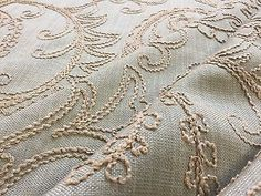 Swavelle Mill Creek Mattituck Embroidered Mattituck Powder Fabic Multipurpose by ShopPetunias on Etsy https://www.etsy.com/listing/252991859/swavelle-mill-creek-mattituck