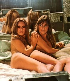 "Brigitte Bardot and Jane Birkin - ""If Don Juan were a Woman, 1973"""