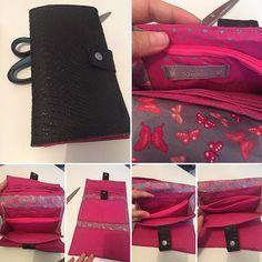 Couture-et-dragibus sur Instagram: 🌸vos commandes🌸 un portefeuille complice de chez @patrons_sacotin. Toujours aussi agréable à coudre même si j'ai eu quelques sueurs…