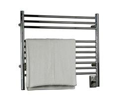 Amba KS.-30 Jeeves Model K Straight Towel Warmer 10-bar Stainless Steel