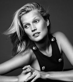 Alique - Photographer; Toni Garrn - Model; Maher Jridi - Fashion Editor/Stylist; Rita Marmor - Hair Stylist; Sir John - Makeup Artist