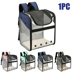 Pet Backpack Strong Bearing Dog Cat Carrier Space Capsule Foldable Portable  - Ideas of Cat Backpack #CatBackpack Cat Backpack Carrier, Cat Carrier, Pet Puppy, Dog Cat, Backpacking Canada, Backpack Reviews, Fat Cats, Doge, Puppies