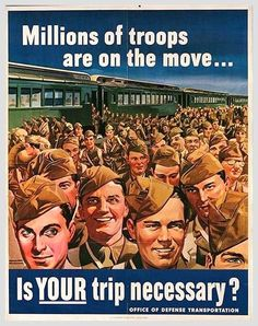 World War 2 Poster (American).....same picture was used for the syphilis warning