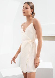 Chanel Charmeuse Dress Chanel Dresses Surplice Dress