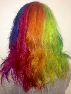 Jackie - RAINBOW HAIR