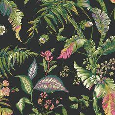 "Found it at AllModern - Ashford Tropics Fiji Garden 27' x 27"" Floral and Botanical Wallpaper"