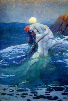 * The Mermaid ~ Howard Pyle 1910 *
