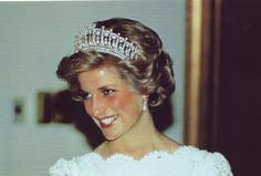 Queen Elizabeth gave this tiara to Diana, Princess of Wales as a wedding gift.