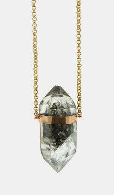 Tibetan Quartz Necklace