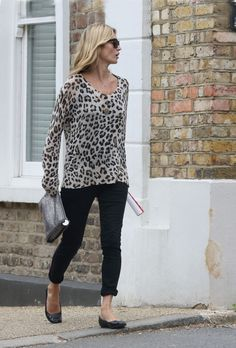 Kate Moss Takes a Stroll with Her Husband