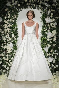 Wyndham dress (Ballgown, Scoop, Straps,  Sleeveless ) from  Anne Barge 2016, as seen on dressfinder.ca. Click for Similar & for Store Locator.