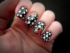 15 Spring Floral Nail Art Designs - Always in Trend   Always in Trend