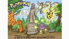 Le bestie si ribellano e devastano la città