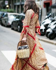 this vintage maxi dress is the one