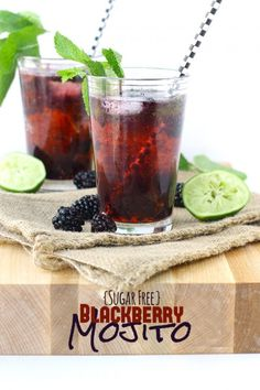 All About Blackberries - Blackberry Mojito