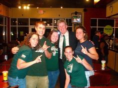 From 2008-2009 I was elected the President of the Student Bulls Club. (Here I am with USF Football coach and Founding Father Jim Leavitt!) In this role I still had a big hand in creating events and recruiting members to our organization, but also had more interaction with USF alumni and a hand in selecting the SBC Board of Directors.