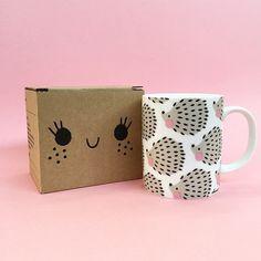 Image of Taza Erizos - Hedgehogs Mug