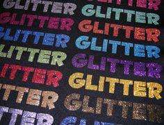 12 x 19.5 Glitter Heat Transfer Vinyl  Heat by OneSourceStore, $5.50