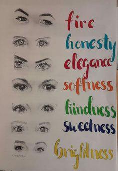 Wahre Schönheit liegt im Auge des Betrachters, sagt man. Die Augen gehören zu 7 unglaublich faszinierenden Persönlichkeiten, die verschiedener kaum sein könnten. Man sagt auch, dass die Augen das Tor zur Seele sind. Was ich in ihnen sehe habe ich daneben geschrieben. Bleibt nur die Frage, was seht ihr das? 🤔