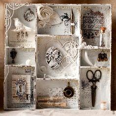 AMARNA ARTESANATO E IMAGENS: ARTESANATO (SHADOW BOX)