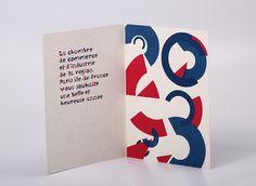 Carte de vœux CCI 2013 on Behance