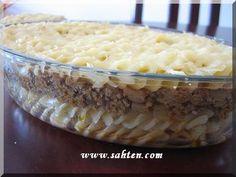 Gratin libanais de pâtes à la cannelle