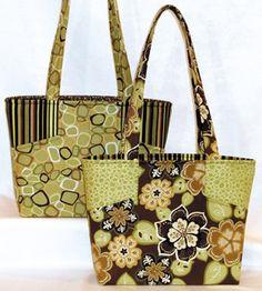 Margo Handbag Pattern by Lazy Girl Designs -- Free shipping in US
