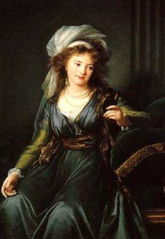 Catherine Skavronskaya ( native-born Engeligardt ), her granddaughter countess Julia Samoylova