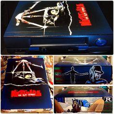 A Nightmare on Elm Street custom VCR by Sorce CodeVhs