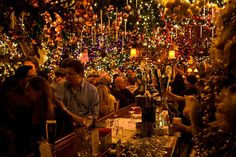 For bar seating only (personal). -M || Rolf's NYC: christmas magic explosion. 12/14 reservation set.