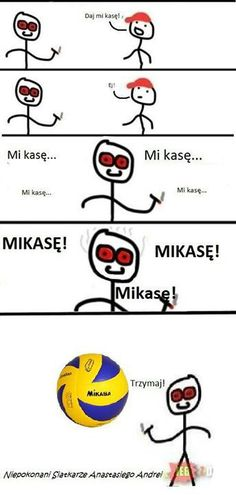 XDDD Mikasa to w Attack on titan jest XDD Wtf Funny, Funny Memes, Hilarious, Polish Memes, Life Moments, Man Humor, Best Memes, I Laughed, Haha