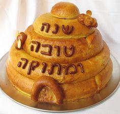 Rosh Hashanah bee skep challah