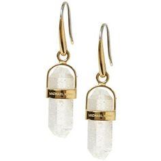 Michael Kors Geode Quartz Earring