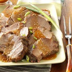 Slow Cooker: Sesame Pork Roast Recipe