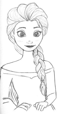 Disney Princess Images For Drawing Easy Sketches Drawings Sketch