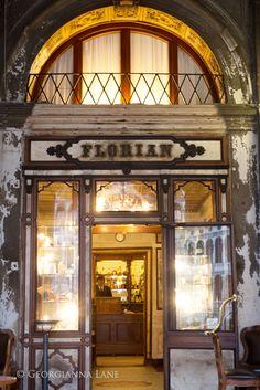 Caffe Florian, Venice by Georgianna Lane