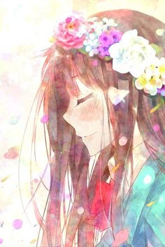 Sawako from Kimi ni Todoke. Her character is adorable and really pretty and I just love her haha.