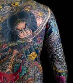 Photo extraite de Quelles sont les significations cachées derrière les tatouages des Yakuza ? (16 photos)