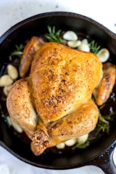 Whole Baked Chicken Recipes Healthy is One Of the Favorite Chicken Of Numerous Persons Across the World. Besides Easy to Make and Great Taste, This whole Baked Chicken Recipes Healthy Also Health Indeed. Best Whole Chicken Recipe, Baked Whole Chicken Recipes, Shredded Chicken Recipes, Easy Chicken Dinner Recipes, Low Carb Chicken Recipes, Easy Meals, Diet Recipes, Cooker Recipes, Healthy Recipes