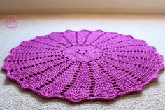 SHOP - Castle Handmade. Crochet floor rug, handmade in Australia, children's room decor