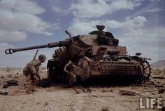 Campagne Tunisie - Le Guettar, Avril 1943
