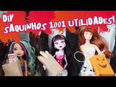 Como fazer sorvete (picolé) para Barbie, Monster High, EAH etc - YouTube