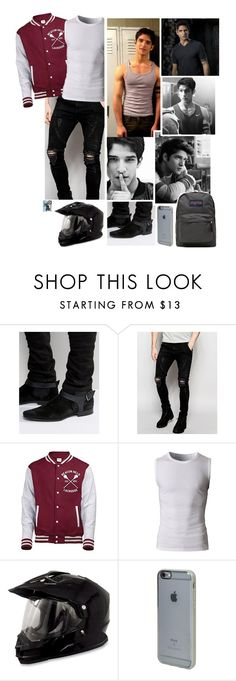 """Ootd [ Scott ]"" by believe-in-you-always ❤ liked on Polyvore featuring ASOS, Sik Silk, Incase, JanSport, men's fashion and menswear"