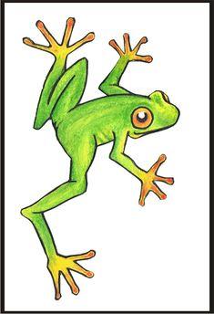 frog tatoo designed for my Gran